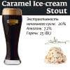 Caramel Ice-cream Stout Наклейка для ГлавПивМаг
