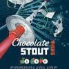 Chokolate Stout Shisha Наклейка для ГлавПивМаг