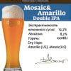 Mosaic&Amarillo DIPA Наклейка для ГлавПивМаг